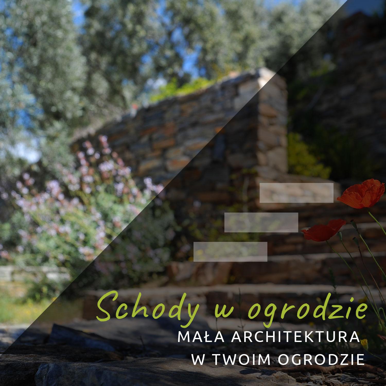 Schody w ogrodzie Białystok
